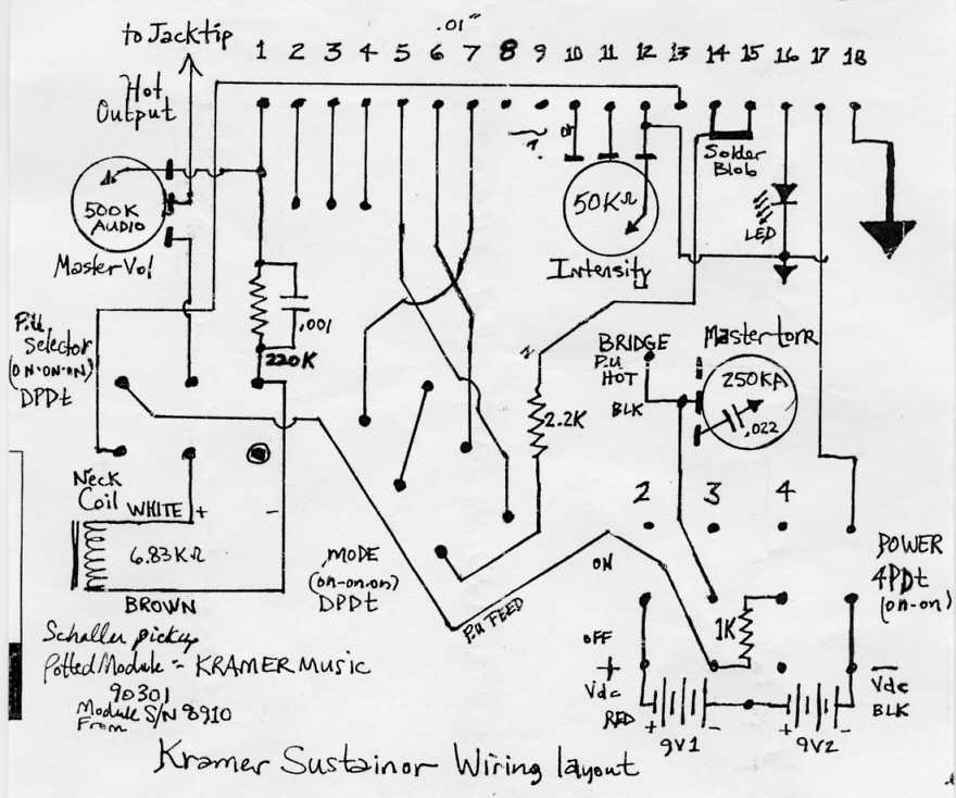 stock kramer wiring information and reference