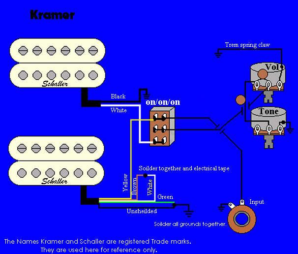 kramer focus wiring diagram