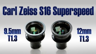 Carl Zeiss Superspeed (S16) MKI 9.5mm & 12mm T1.3
