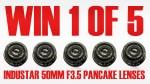 WIN 1 of 5 Industar 50mm F3.5 Pancake Lenses