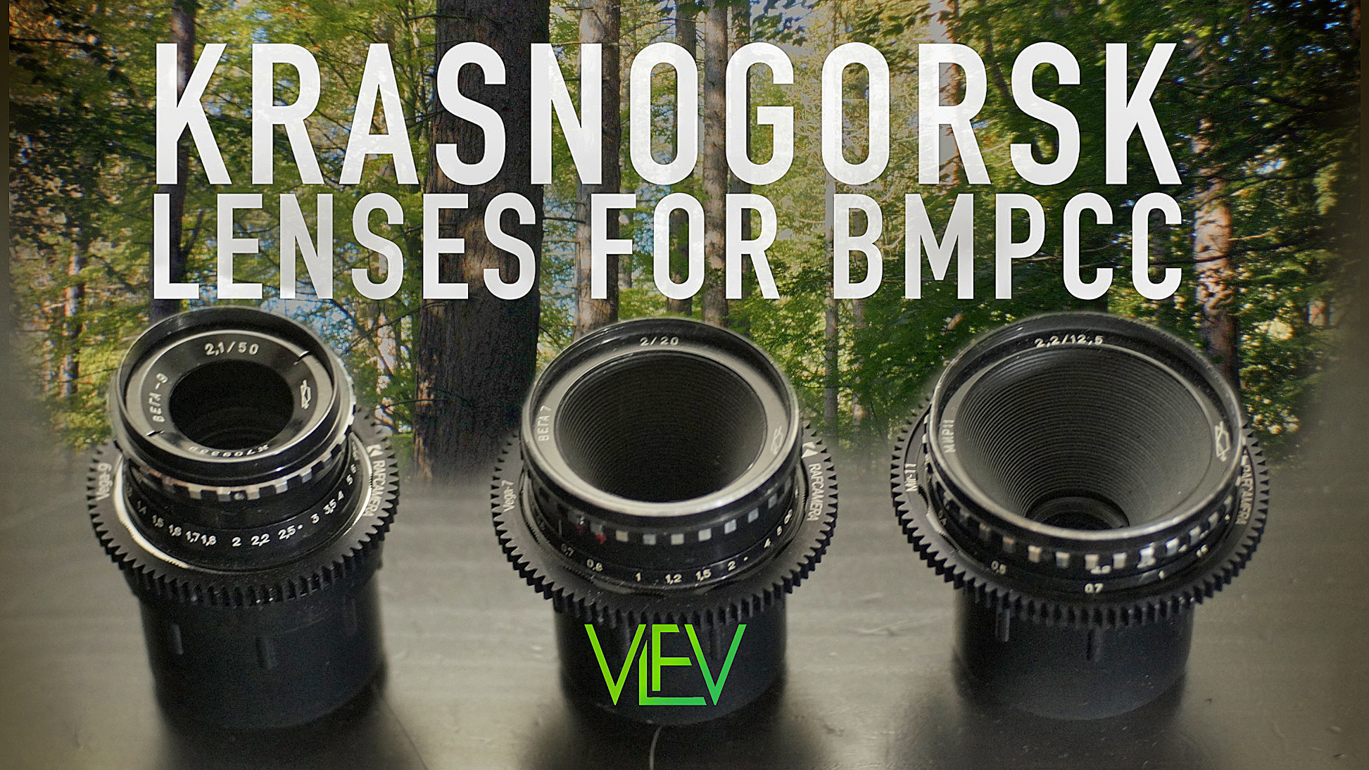 "Using ""Krasnogorsk"" Lenses on BMPCC 