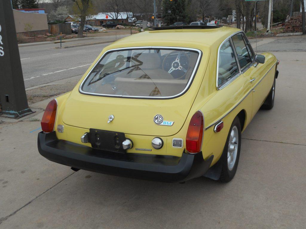 1974 Fuel Injected Overdrive Mgb Gt Sold Vintage