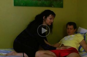 Mom Teasing Stepson and She Decides to Masturbate After that!
