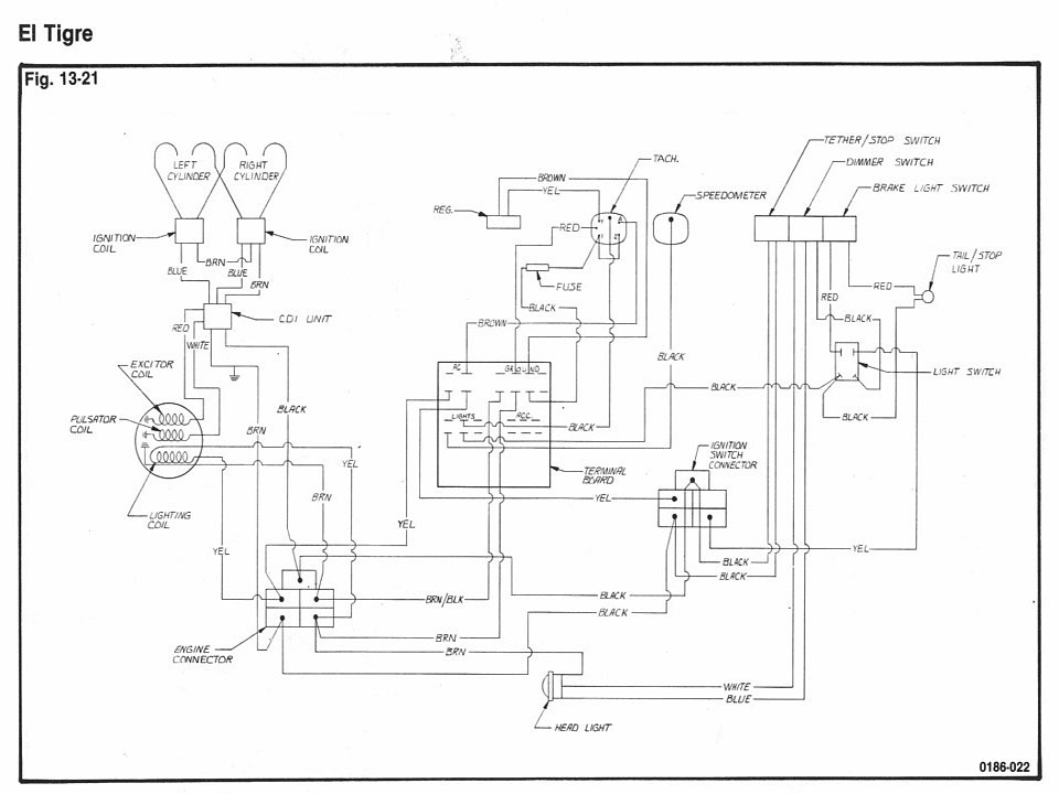 73 arctic cat panther wiring diagram