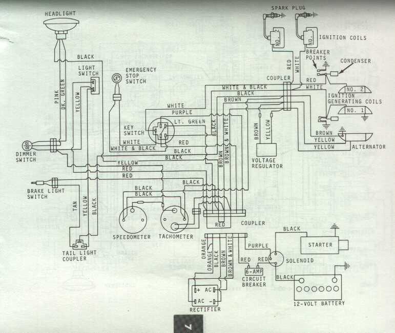 Old Snowmobile Wiring Diagrams Wiring Diagram