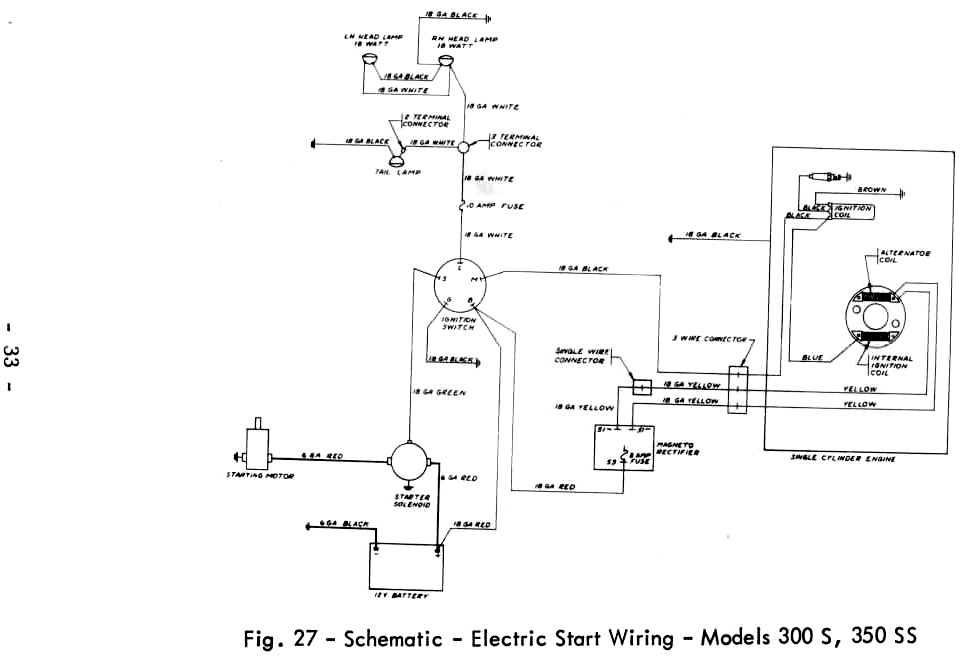 Ford 260 Ignition Wiring Massey Ferguson