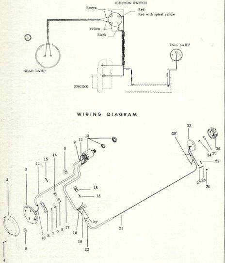 Vintage Snowmobile Wiring Diagrams Wiring Diagram Library