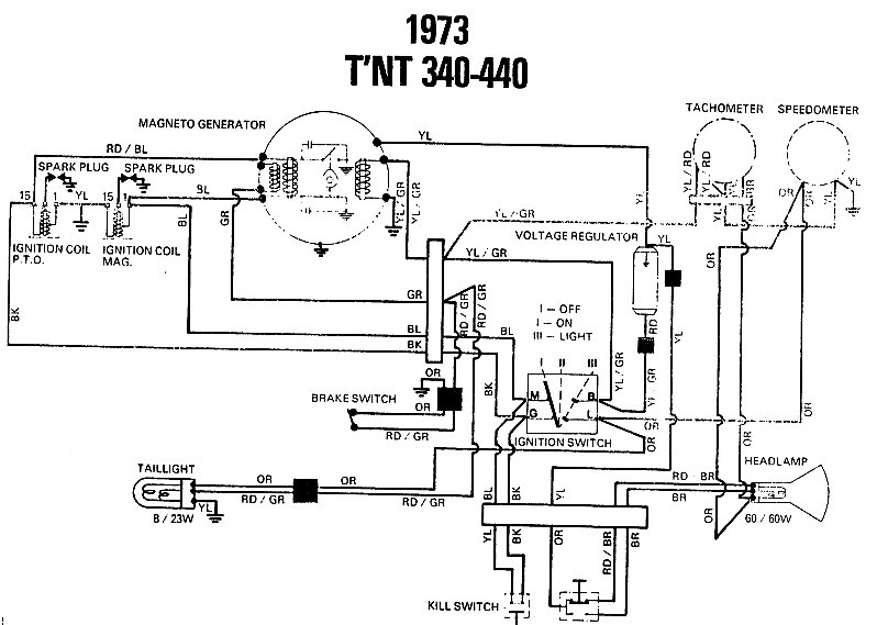 1968 ski doo olympique wiring diagram
