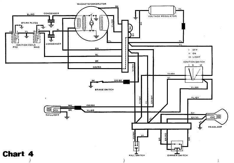 WIRING DIAGRAM YAMAHA SRV - Auto Electrical Wiring Diagram