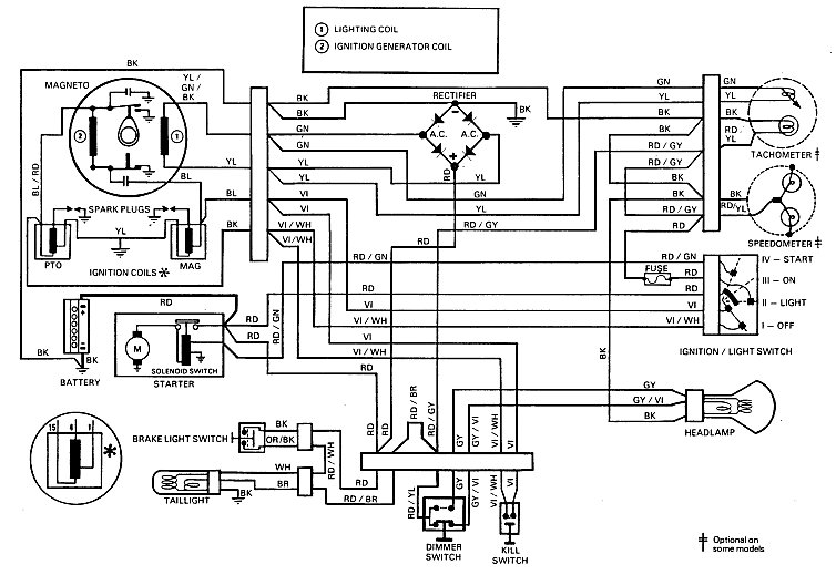 1975 ski doo alpine wiring diagram