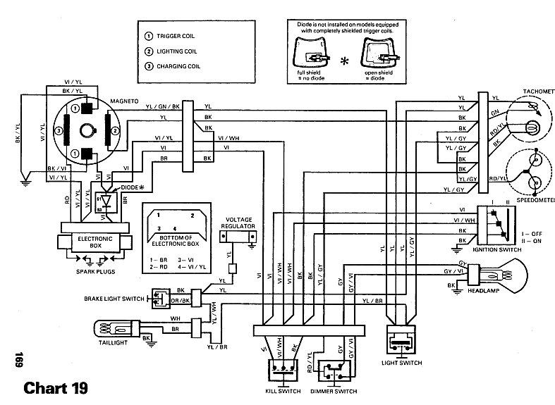 1980 ski doo citation wiring diagram