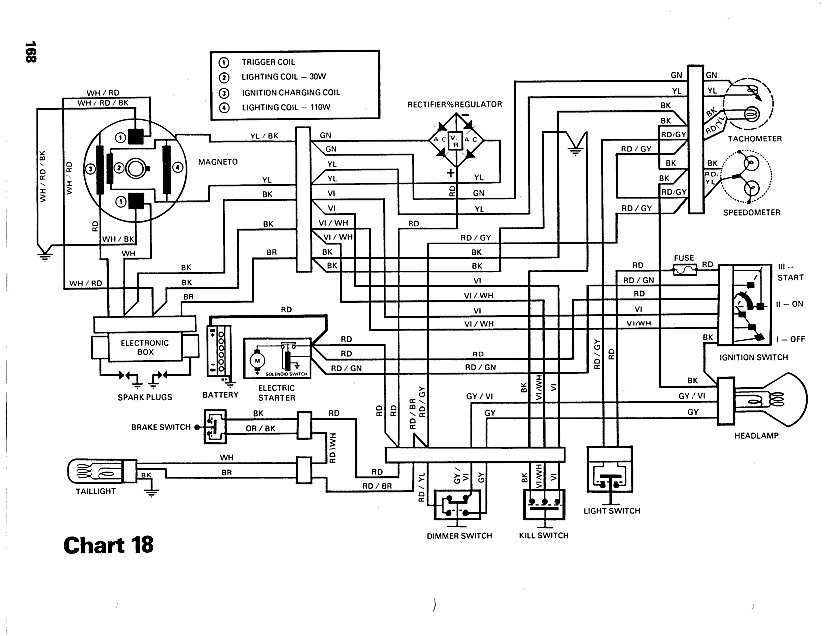 85 ski doo wiring diagram