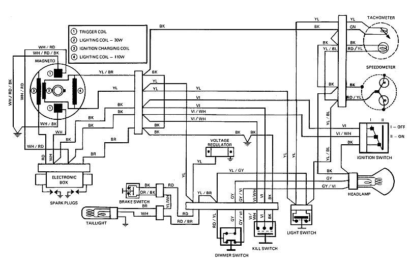 Yfm400fwn Wiring Diagrams Yamaha Big Bear 4wd Atv Weeksmotorcycle