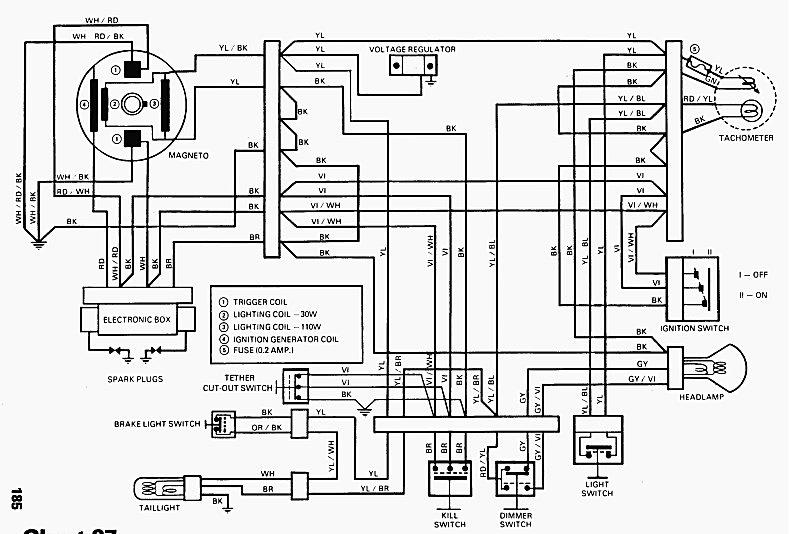 2000 ski doo tundra wiring diagram