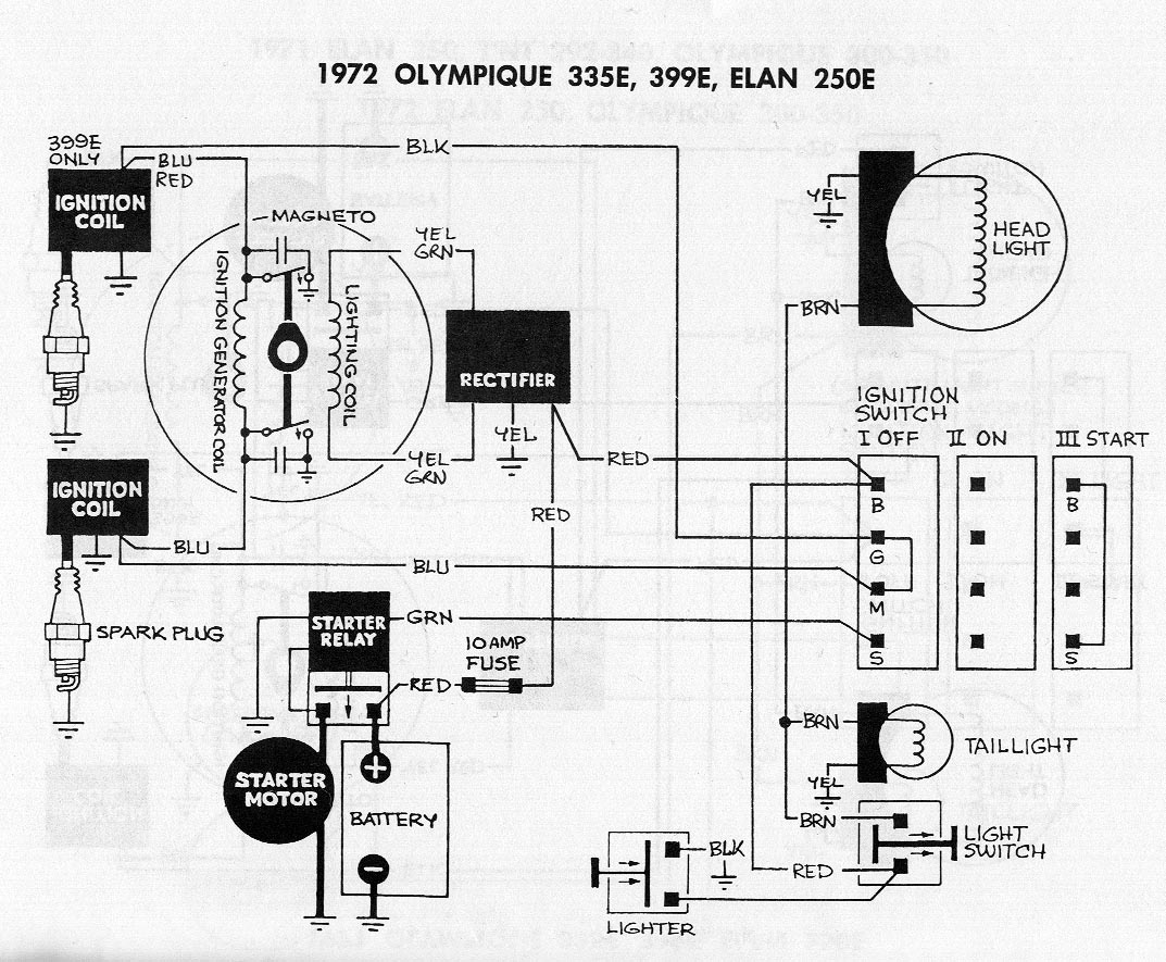ski doo 440 wiring diagram