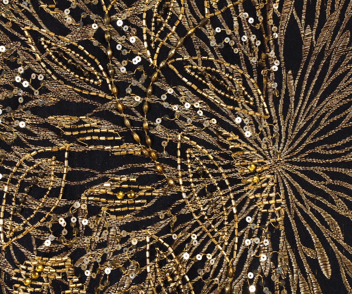 Free Early Fall Wallpaper 2741 Beaded Evening Coat At Vintagetextile Com
