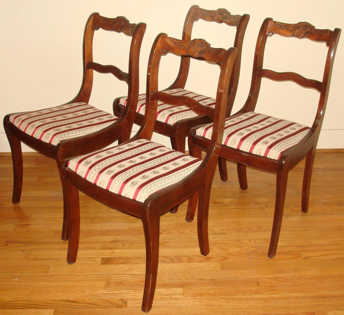 Duncan Phyfe Dining Room Set Buffet 2 Drawers 2 Doors 1