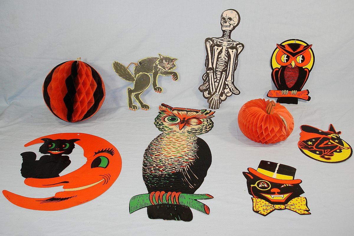 vintage halloween decorations - Vintage Halloween Decorations For Sale