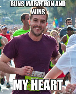 Ridiculously Photogenic Guy - wins heart