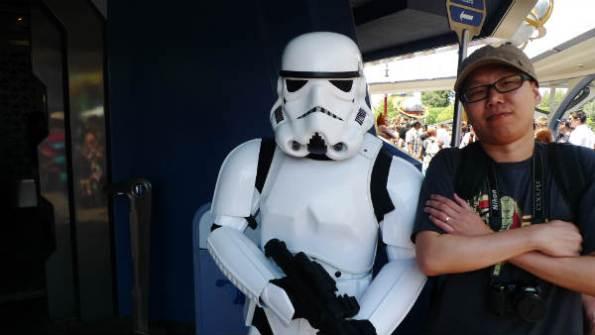 Storm Trooper Disneyland