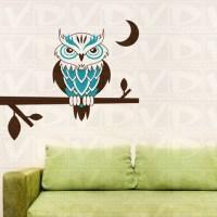 owl:wall:stickers 2017 - Grasscloth Wallpaper