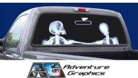 Vehicle Graphics - Rear Window Graphics - X-Ray Custom ...