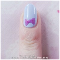 Simple Nail Art- Bows! | Violet LeBeaux - Tales of an Ingenue
