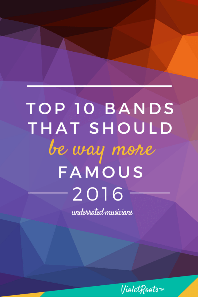 Top 10 Bands that Should Be Way More Famous - Meet these 10 bands that should be famous! If bands like Glass Animals, Wild Belle, Chloe x Halle, Prides & PLGRMS aren't on your radar they will be soon!