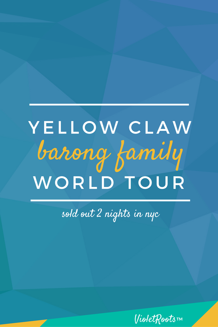 Yellow Claw Barong Family World Tour - The Yellow Claw Barong Family World Tour sold out 2 nights at Webster Hall in NYC! Get concert highlights and insights from this sought after show today!