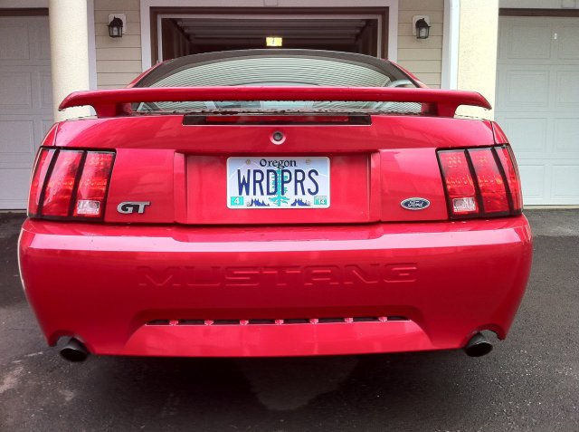 WordPress License Plates