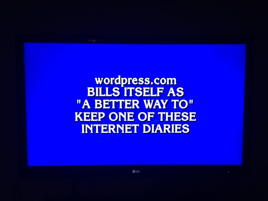 WordPress.com On Jeopardy!