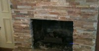 Tile over Brick Fireplace Remodel | VIP Services: Painting ...