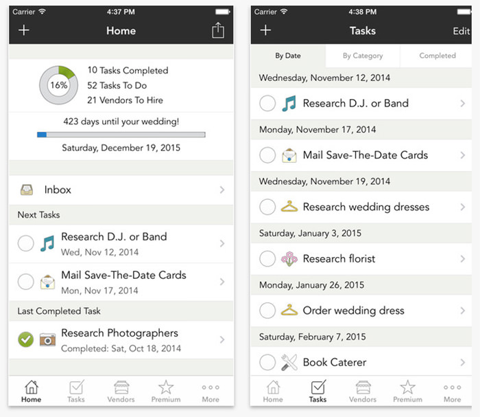19 Useful Apps to Plan Your Own Wedding - VipsPatel