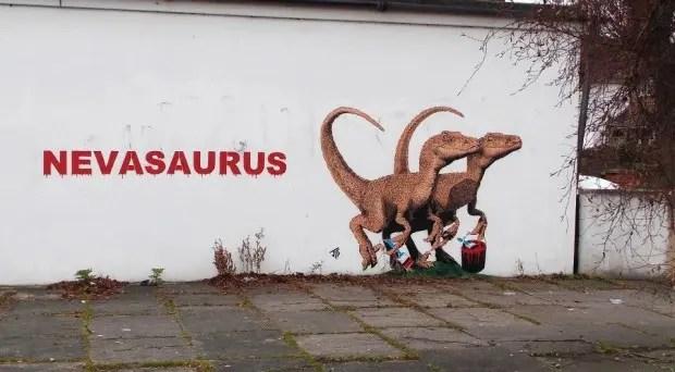 grafiti-dino