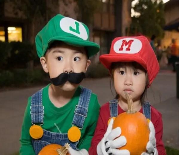 niños disfrasados por padres4
