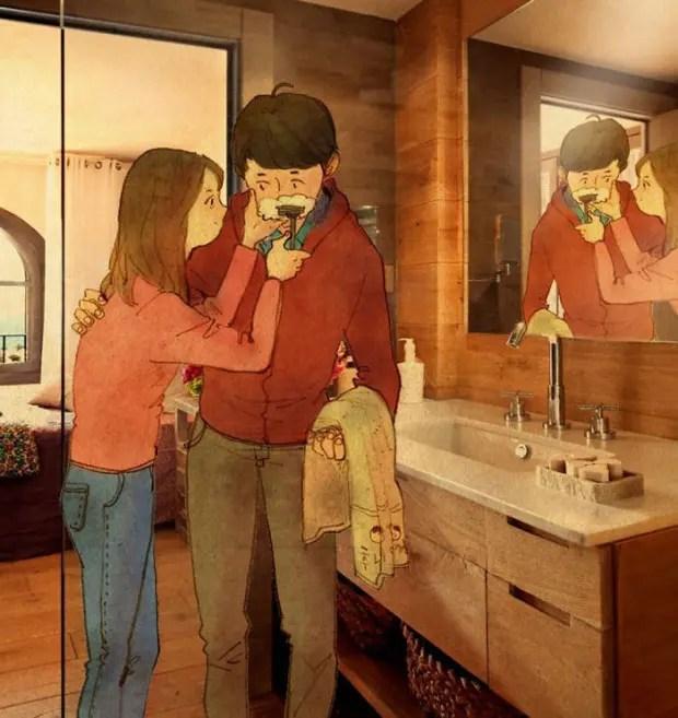 amor-detalles-Puuung-ilustraciones-afeitar