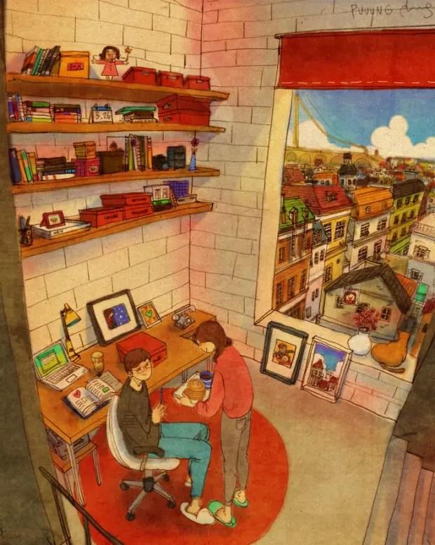 amor-detalles-Puuung-ilustraciones-desayuno-panquecas