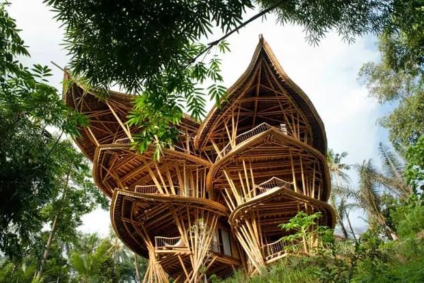 casas de bambú