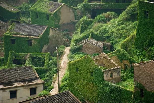 pueblo abandonado china