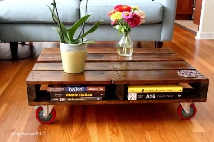 mesas palets madera 1