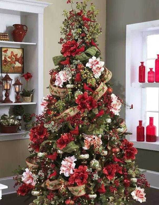 arbol-de-navidad-de-flores1