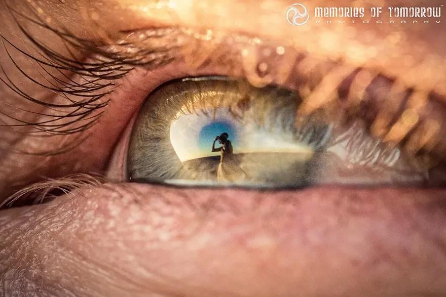 reflejo de la vistazo 7