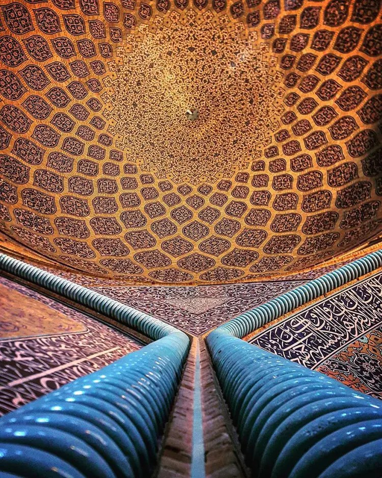 hermosa mezquita en iran 14