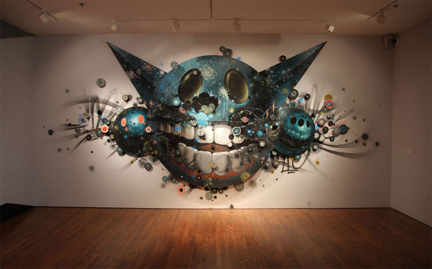 Street Artists Are Free To Do Whatever They Want On This Museum\u0027s