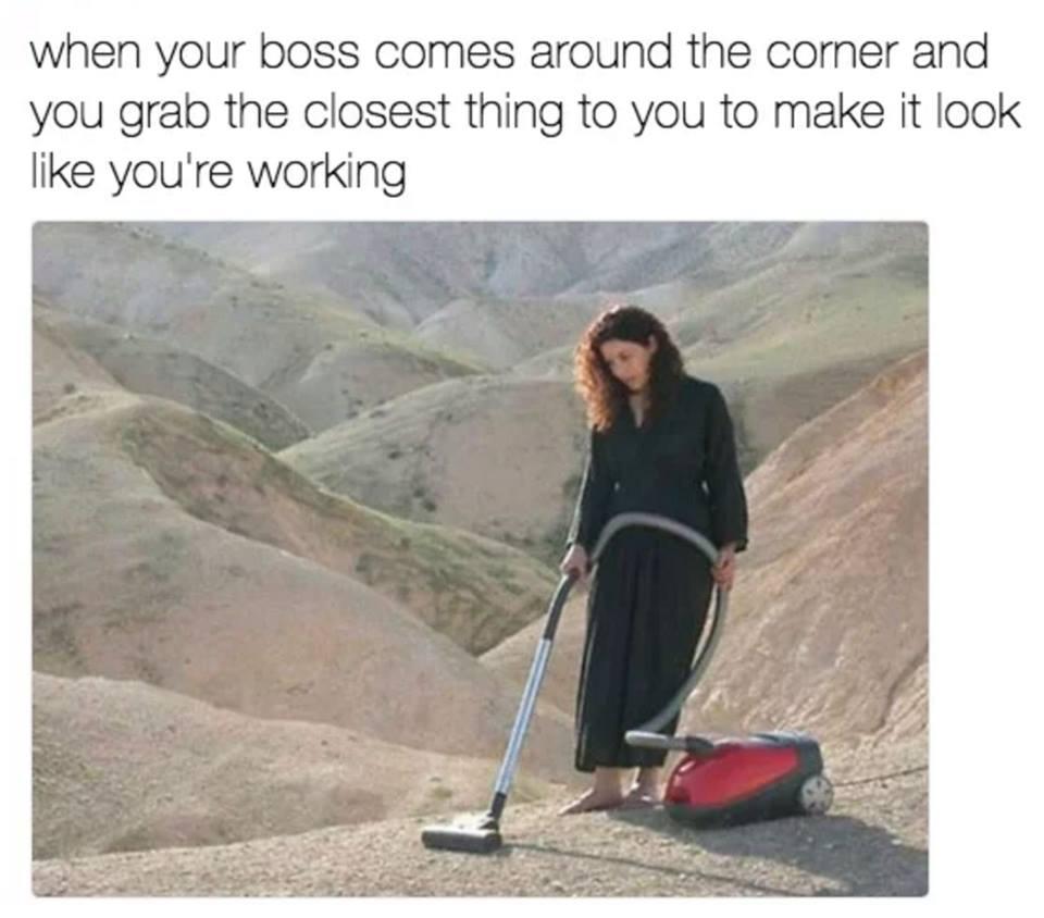 Gotta Be Productive - Meme