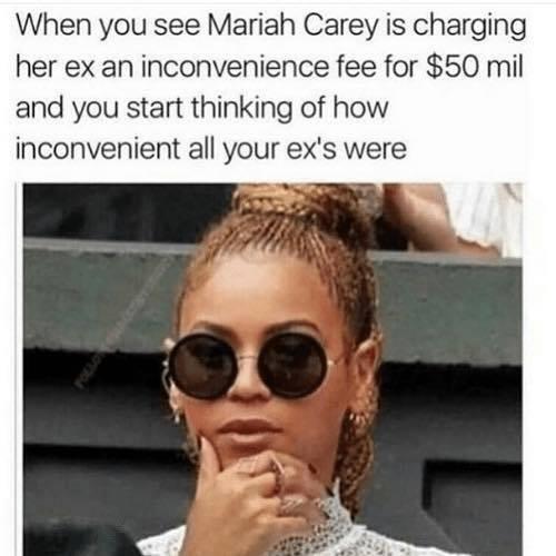 Inconvenient Exes - Meme