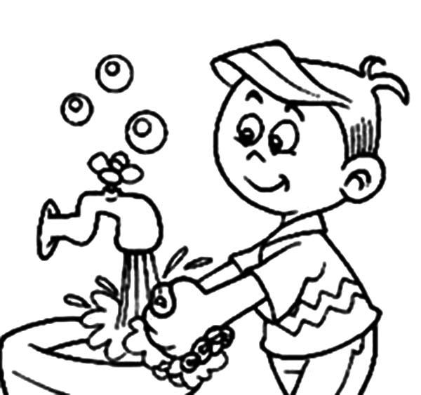 cover cough coloring pages - photo#10