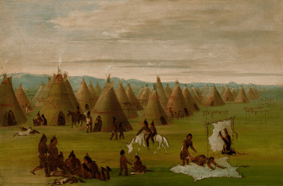 Woodland Indians In Virginia