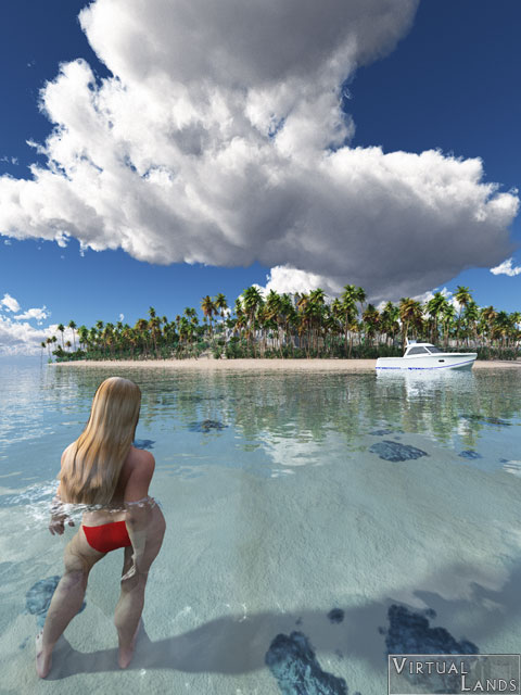 Gif Images Animated Wallpapers Paradise Island Virtual Lands 3d