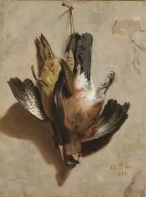 Natura morta con cacciagione